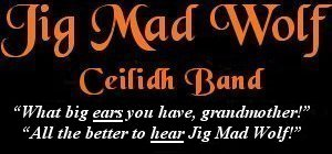 Image: Jig Mad Wolf Ceilidh and Barn Dance Band Banner - Sounds